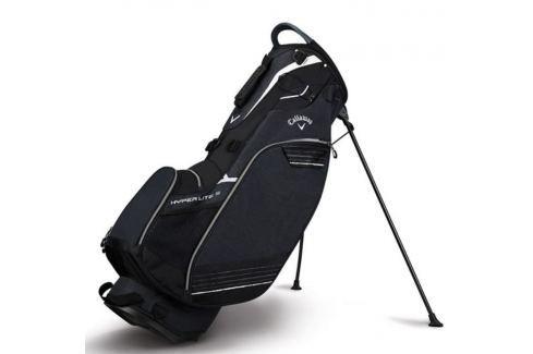 Callaway Hyper Lite 3 Carry Stand Bag Black/Titanium/White 2018 Huse pentru stative