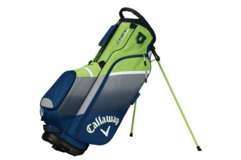 Callaway Chev Org Stand Bag Navy/Silver/Green 2018 Huse pentru stative