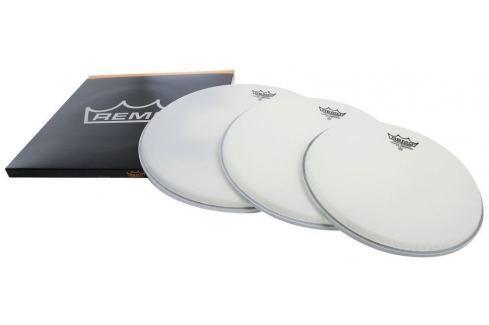 Remo Drum Head Emperor White Coated ProPack 10'' 12'' 14'' Fețe de tobă coated și albe