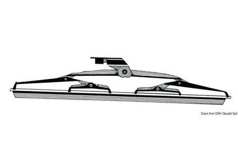Osculati SS windshield blade with silicone flap 559 mm BOATS-Trape / Hublouri