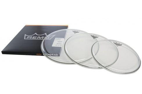 Remo Drum Head Emperor Transparent ProPack 10'' 12'' 14'' Fețe de tobă transparente