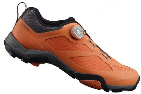 Shimano SHMT700 Orange 42 BIKE-Pánska cyklistická obuv