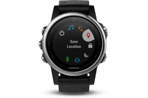 Garmin fenix 5S Silver Black band GPS