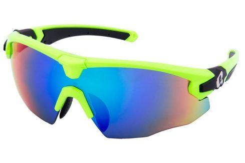 HQBC QERT PLUS Reflex Green Bike-Ochelari de soare