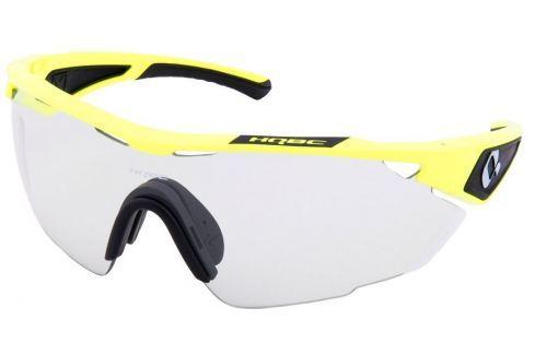 HQBC QX3 Fluo Yellow Photochromic Bike-Ochelari de soare