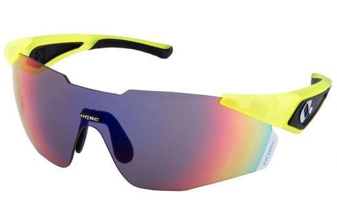 HQBC QX1 Fluo Yellow Bike-Ochelari de soare
