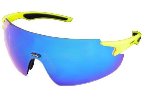 HQBC QP8 Fluo Yellow Bike-Ochelari de soare
