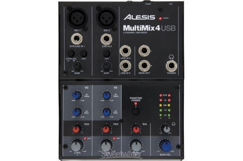 Alesis MULTIMIX 4 USB (B-Stock) #909515 Mixere până la 10 canale