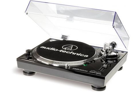 Audio-Technica AT-LP120USBHC-BK (B-Stock) #909554 Platane / pick-upuri de DJ
