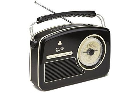 GPO Retro Rydell Nostalgic DAB Radio Black Playere portabile-Desktop