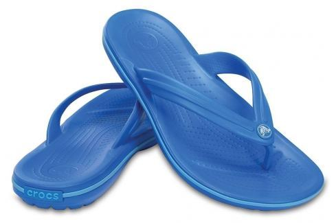 Crocs Crocband Flip Unisex Adult Ocean/Electric Blue 38-39 BOATS/Pánska obuv