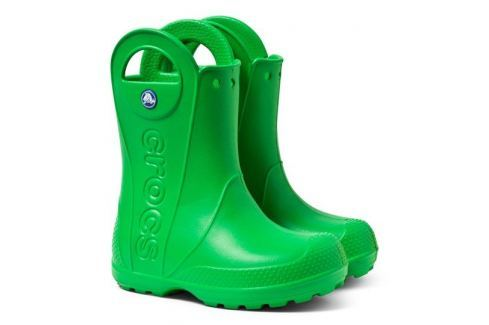 Crocs Handle It Rain Boot Kids Grass Green 25-26 BOATS/Detská obuv
