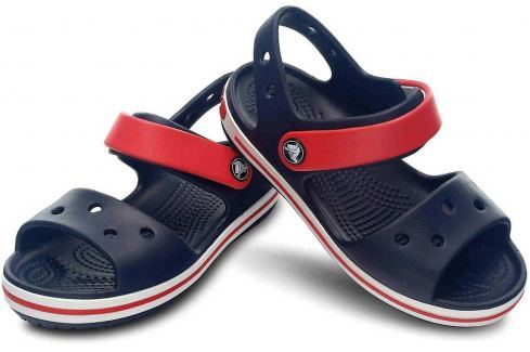 Crocs Crocband Sandal Kids Navy/Red 29-30