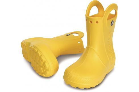 Crocs Handle It Rain Boot Kids Yellow 27-28