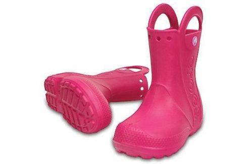 Crocs Handle It Rain Boot Kids Candy Pink 33-34 BOATS/Detská obuv