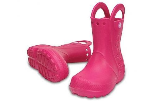 Crocs Handle It Rain Boot Kids Candy Pink 29-30 BOATS/Detská obuv