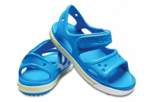 Crocs Crocband II Sandal PS Ocean/Tennis Ball Green 25-26 BOATS/Detská obuv