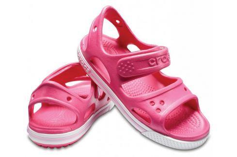 Crocs Crocband II Sandal PS Paradise Pink/Carnation 32-33 BOATS/Detská obuv