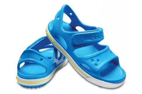 Crocs Crocband II Sandal PS Ocean/Tennis Ball Green 34-35 BOATS/Detská obuv
