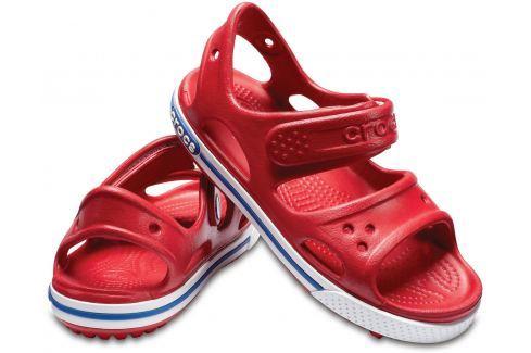 Crocs Crocband II Sandal PS Pepper/Blue Jean 32-33 BOATS/Detská obuv