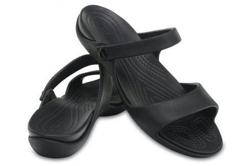 Crocs Cleo V Women Black/Black 39-40 BOATS/Dámska obuv