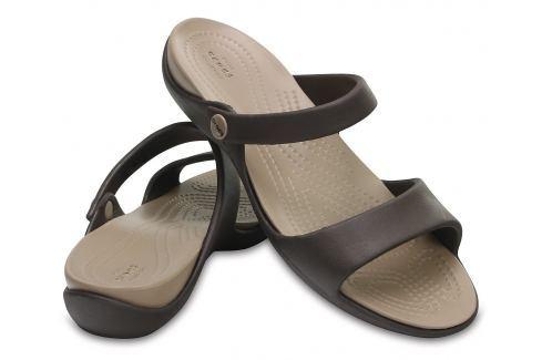 Crocs Cleo V Women Espresso/Mushroom 37-38 BOATS/Dámska obuv