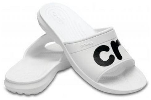 Crocs Classic Graphic Slide Unisex Adult White/Black 39-40 BOATS/Pánska obuv