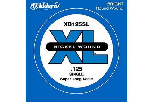 D'Addario XB125SL Corzi individuale pentru chitare bas