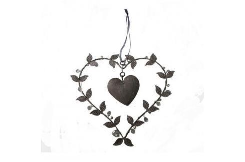 Inimă decorativă de agățat Antic Line Loving Sfeșnice și decorațiuni