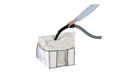 Organizator vacuum Wenko Soft S, 40 x 25 x 42 cm Dulapuri de haine