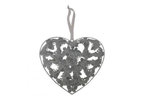 Inimă decorativă de agățat Antic Line Romance III Sfeșnice și decorațiuni