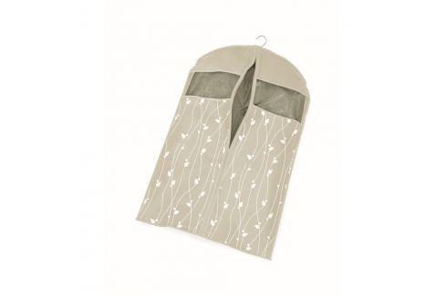 Husă protecție pentru haine Cosatto Leaves, lungime 100 cm, bej Cutii pentru depozitare și coșuri