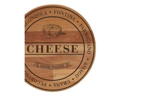 Tocător din lemn de fag Bisetti Broad Cheese, 30 cm Tocătoare