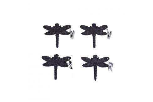 Set 4 cleme pentru șervețele Ego Dekor Dragonfly Sfeșnice și decorațiuni