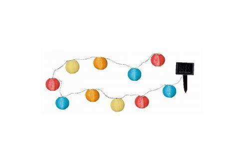 Decoraţiune luminoasă LED Best Season Crazy Lampions, 10 becuri Decorațiuni luminoase
