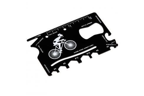 Card multifuncțional în suport de piele Rex London Le Bicycle Pasionat de călătorii