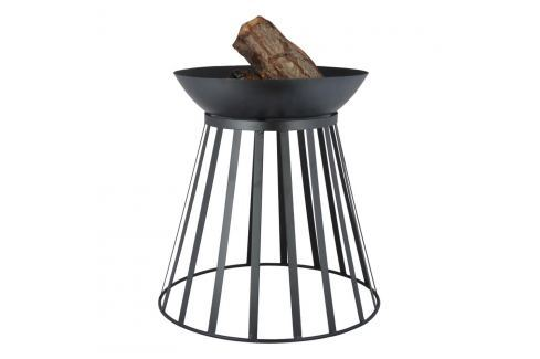 Vatră reversibilă oțel Esschert Design Gril și picnicuri
