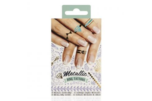 Set 15 tatuaje autoadezive NPW Metallic Tattoos
