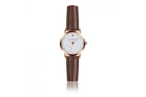 Ceas damă din piele Emily Westwood Vintage, maro  Ceasuri