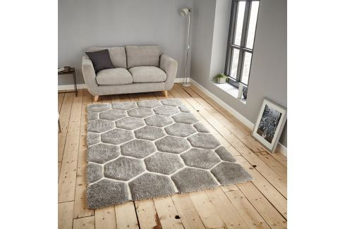 Covor Think Rugs Noble House, 120 x 170 cm, gri Covoare și carpete