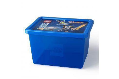 Cutie depozitare LEGO® NEXO Knights L, albastru Cutii pentru depozitare și coșuri