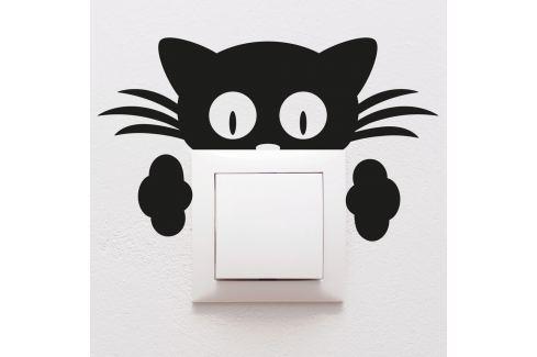 Autocolant  Ambiance Plug Kitten Tablouri, rame și tăblițe