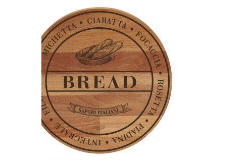 Tocător din lemn de fag Bisetti Broad Bread, 30 cm Tocătoare