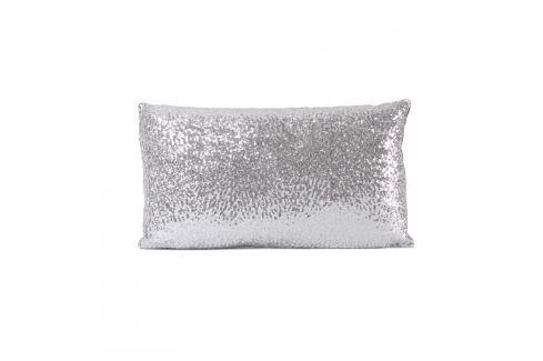 Față de pernă Raya, 55 x 30 cm, argintiu Lenjerii de pat și așternuturi