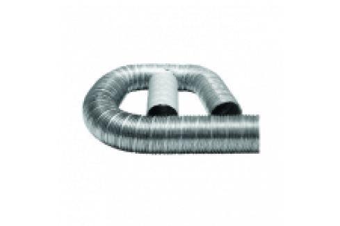 TUB FLEXIBIL DIN ALUMINIU LUNGIME 1-3 METRI D.125 Tuburi/racorduri flexibile aluminiu