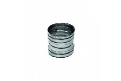 RACORD DIN INOX PENTRU TRECERE DE LA TUB FLEXIBIL LA TUB FLEXIBIL D.200 Tuburi/racorduri flexibile inox