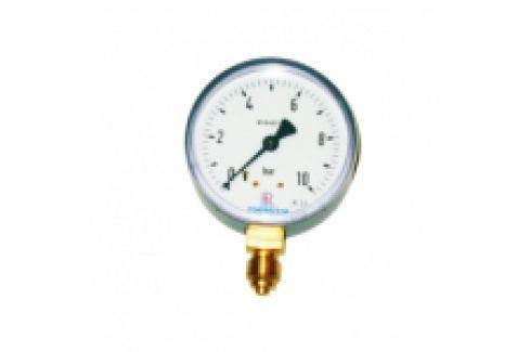 "MANOMETRU GAZE, CARCASA METALICA, RADIAL 0-160mbar, D63mm, G1/4"" Manometre si termometre"