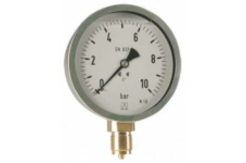 "MANOMETRU CARCASA METALICA, RADIAL, 0-6 bar D80, G1/2"" Manometre si termometre"
