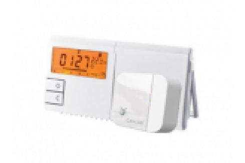 CRONOTERMOSTAT RADIOFRECVENTA, LCD ILUMINAT, 091FLRF, 2TEMPERATURI / 9PROGRAME, CU BATERII Cronotermostate de ambianta