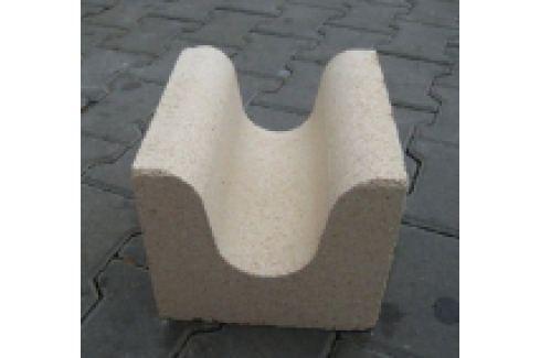 DEFLECTOR CERAMICA REFRACTARA FOCAR TIP U PT. CAZAN GAZEIFIC. ORLAN 25-130 kW, 250x225x200(80)m Ceramica refractara